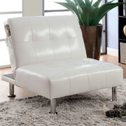 Hokku Designs Fergus Convertible Side Chair; White