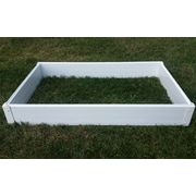 CookProducts Handy Bed Plastic Raised Garden Planter; 6'' H x 47'' W x 25'' D