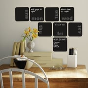 Room Mates Deco Days of The Week Planner Chalkboard Wall Decal