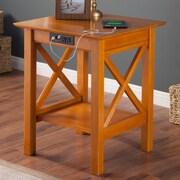 Atlantic Furniture Chelsea Printer Stand; Caramel Latte