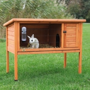 Trixie Natural 1 Story Small Animal Hutch; 36'' H x 45.5'' W x 24.75'' D
