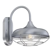 Millennium Lighting R Series 1 Outdoor Barn Light; Brushed Aluminum