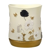 Popular Bath Products Dahlia Waste Basket