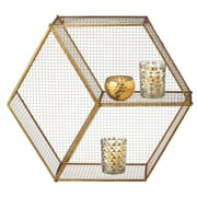 CBK Weekend Retreat Hexagon Wall Cubby