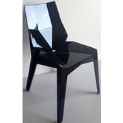 Bienal Transformers Stacking Chair (Set of 4); Black