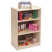 Steffy Three-Shelf Mobile Storage Unit