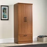Sauder HomePlus Wardrobe Armoire; Sienna Oak
