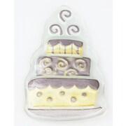 Evergreen Enterprises, Inc Glass Wedding Cake Charm