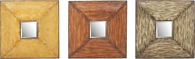 UMA Enterprises 3-Piece Valerie Wall Mirror Set