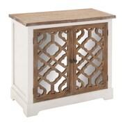 Woodland Imports 2 Door Mirror Cabinet