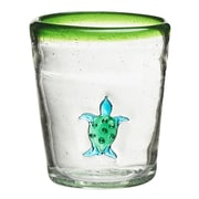 Global Amici Marina Turtle Double Old Fashioned Glass (Set of 4)