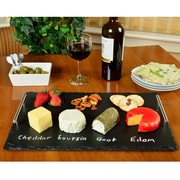 Picnic At Ascot Sardo Rectangle Slate Cheese Tray