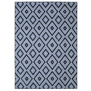 Mohawk Home Shima Nylon 8'x10' Blue Rug (086093476113)