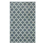 Mohawk Home Calabasas Uno Nylon 5'x8' Light Blue Rug (086093491659)