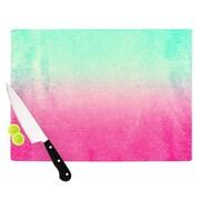 KESS InHouse Sunny Melon Cutting Board; 11.5'' W x 8.25'' D