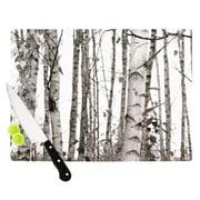 KESS InHouse Birchwood Cutting Board; 11.5'' W x 8.25'' D