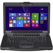"Panasonic® Toughbook CF-54A0005CM 14"" Laptop, LCD, Intel i5-5300U Dual-Core, 500GB HDD, 4GB, WIN 8.1 Pro, Black/Silver"
