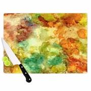 KESS InHouse Fall Bouqet Cutting Board; 11.5'' W x 8.25'' D