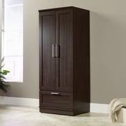 Sauder HomePlus Wardrobe Armoire; Dakota Oak