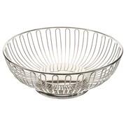 "Elegance 10"" Round Silver Plated Basket"