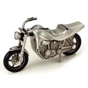 Elegance Pewter Plated Motorcycle Bank