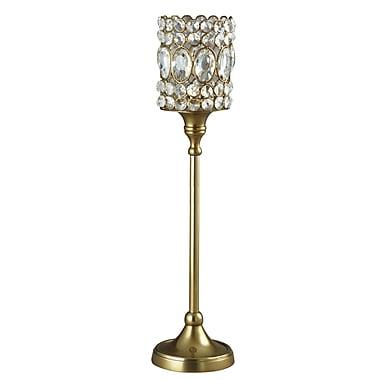 Elegance – Bougeoirs étincelants pour lampions ornés de cristaux