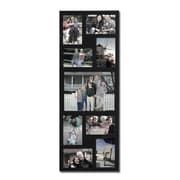AdecoTrading 9 Opening Wood Wall Hanging Picture Frame