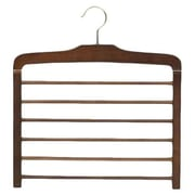 Only Hangers Inc. Wooden Specialty Multi-Pant Hanger with Non-Slip Bar