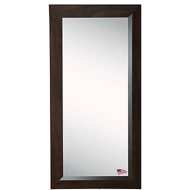 Rayne Mirrors Walnut Tall Mirror