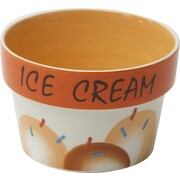 Woodard & Charles Ice Bowl (Set of 6); Orange