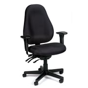 Eurotech Seating Slider Desk Chair; Black