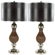 Safavieh Joan 30'' H Table Lamp with Drum Shade