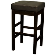 New Pacific Direct Valencia 27 inch Bar Stool; Brown