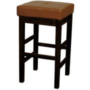 New Pacific Direct Valencia 27 inch Bar Stool; Cognac