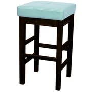 New Pacific Direct Valencia 27 inch Bar Stool; Blue