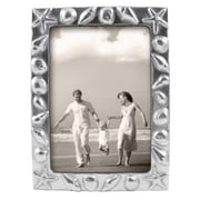 Mariposa Seaside Shell Bordered Picture Frame; 5'' x 7''