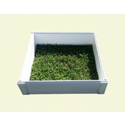 CookProducts Handy Bed Plastic Raised Garden Planter; 6'' H x 25'' W x 25'' D