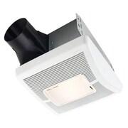 Broan InVent Single-Speed  80 CFM Bathroom Fan w/ Light