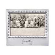 Mariposa Statements ''Family'' Picture Frame