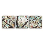 Artefx Decor Rustling Leaves Triptych by Studio 212 3 Piece Painting Print on Canvas Set