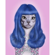 Empire Art Direct Pets Rock  ''Gurl'' Graphic Art on Wrapped Canvas