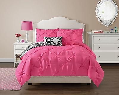 VCNY Olivia Comforter Set; Full/Queen