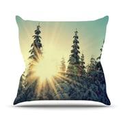 KESS InHouse Shine Bright Throw Pillow; 16'' H x 16'' W