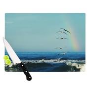 KESS InHouse I'll Follow Cutting Board; 11.5'' W x 8.25'' D