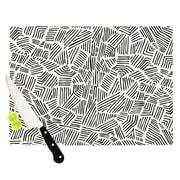 KESS InHouse Inca Lines Cutting Board; 8.25'' H x 11.5'' W