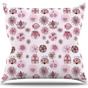 KESS InHouse Cute Stuff Throw Pillow; 18'' H x 18'' W