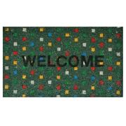 Home & More Polka Dot Doormat