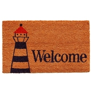 Home & More Lighthouse Welcome Doormat
