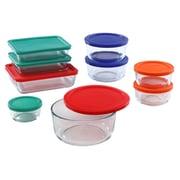 Pyrex Simply Store 18-Piece Food Storage Set