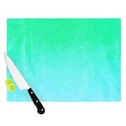 KESS InHouse Blue Hawaiian Cutting Board; 11.5'' W x 8.25'' D